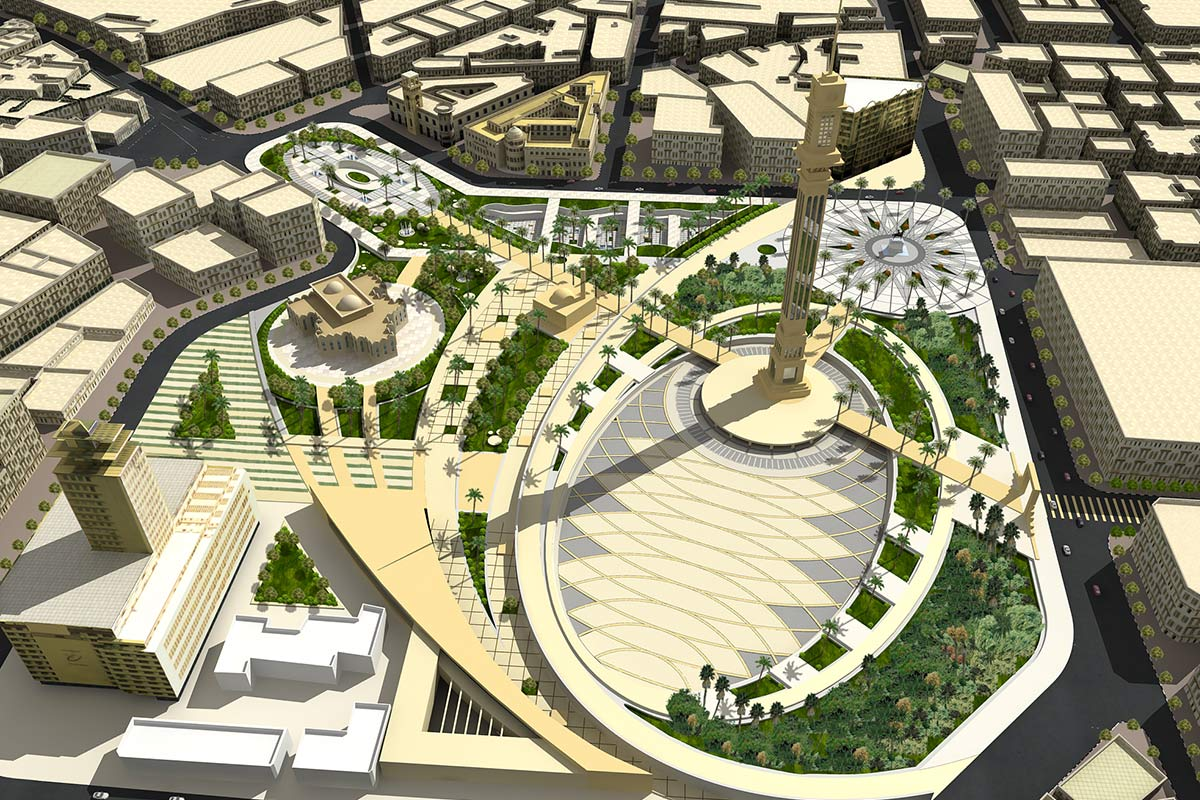 Ataba Square Visual re-planning Egypt